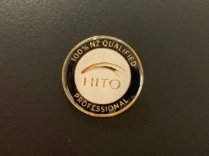 HITO 100% New Zealand Qualified Professional gold pin